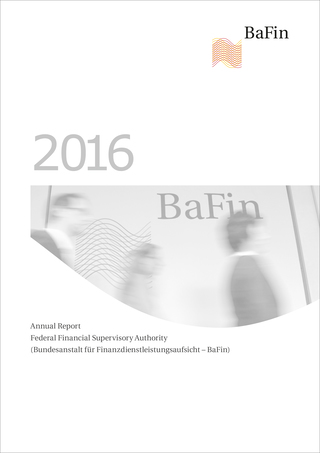 Cover BaFin Annual Report 2016 (refer to: Annual Report 2016)